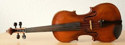 "Very old labelled Vintage violin ""Francesco Gobetti 1700"" Geige viola"