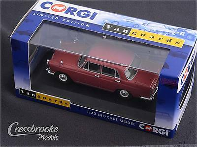 Morris Oxford Series VI - Deep Pink - 1/43 Corgi Vanguards Diecast Model