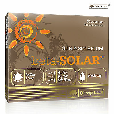 Beta-Solar 30-240 Caps. Tanning Pills Healthy Safe Tan Accelerator Dark Brown