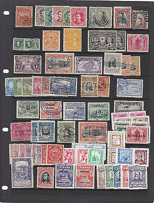 Costa Rica Stamps On Stock Sheet  , Ref 694