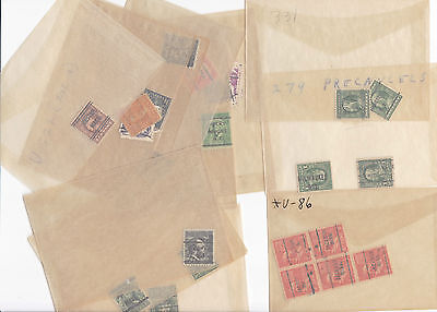 American Pre Cancelled  Stamps Lot   , Ref 704