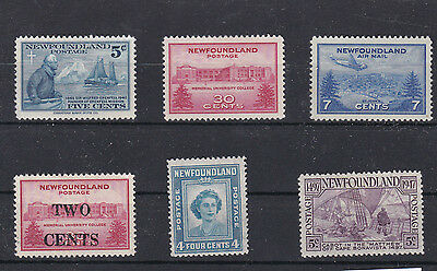 Newfoundland 1941 - 1947 All Issues     Ref 810