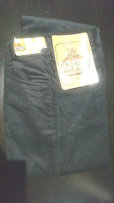 Tue vintage Old Chap Jeans 70´s Schlaghose Bell-bottoms NEW Cord Gewebe Corduroy