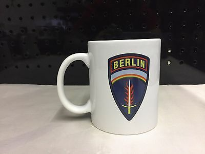 Berlin Brigade Coffee Cup, 11 ounce