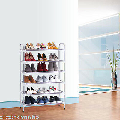Finether Zapatero Estantería para Zapatos Ajustable 3 Sizes Organizador Hogar ES