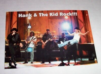 Kid Rock Hand Williams Jr Photo Promo Postcard 2003 The F Word Acm Event Of Year