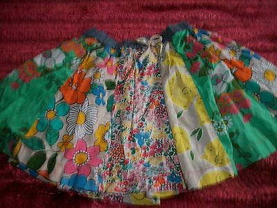Next  Girls Patterned Skirt  - Age 2-3 years lined H98cm