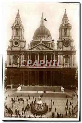 Great BRitain London Londres CPA St Paul's cathedral