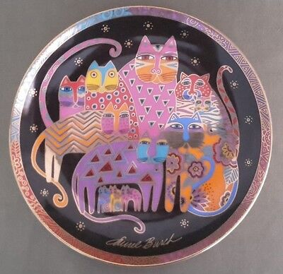 Royal Doulton Limited Edition Collectors Plate 'Fabulous Felines' FREE UK P&P