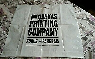 Collectable Advertising Plastic Carrier Bag - The Canvas Printing Company