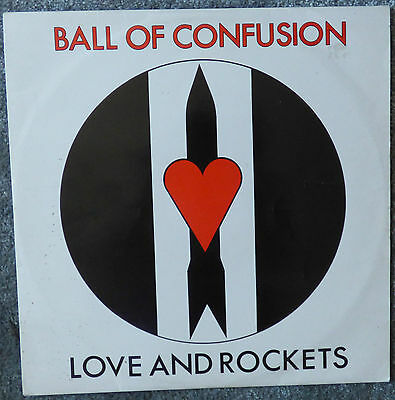 "LOVE AND ROCKETS -BALL OF CONFUSION. 12"" Vinyl Single. B/ Banquet 1985. UK Goth"