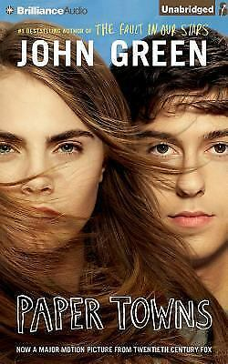PAPER TOWNS unabridged audio book on CD by JOHN GREEN