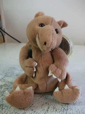 coca cola bean bag soft toy called taps the tapir from venezuela.