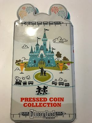 New Disneyland 2017 Pressed Coin Penny Book Collection Disney Parks