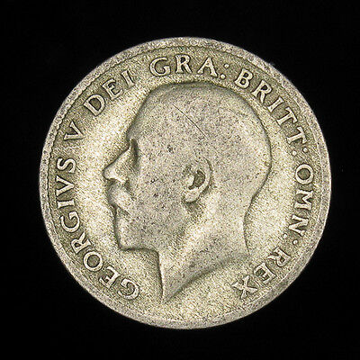 1920 Great Britain 6 Six Pence silver