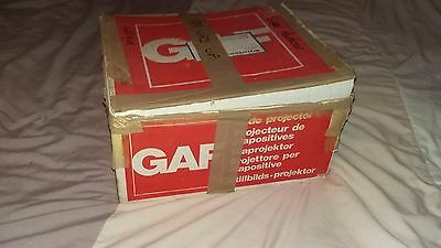 GAF 201 AUTOMATIC PROJECTOR With Original Box 35mm Slide