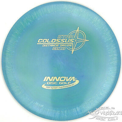 NEW Teal STAR COLOSSUS Speed 14 Driver 152g Innova Disc Golf Sparkle Stamp FAST