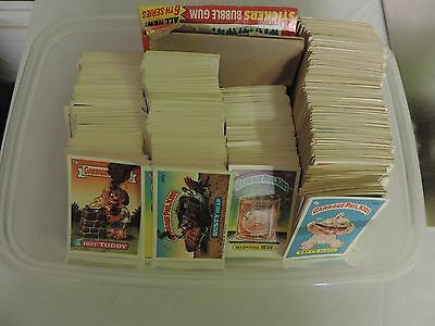 Garbage Pail Kids trading card lot of a bunch of cards series 2-6