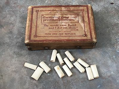 Old Vintage Religious Bible Quotations Spiritual Message Box