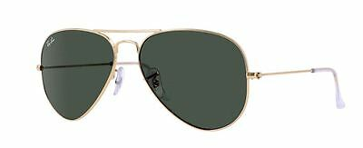 RAY BAN AVIATOR RB3026 Sunglasses - Gold L2846 Large (62mm)