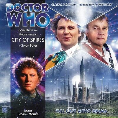 Doctor Who City of Spires, 2010 Big Finish audio book CD