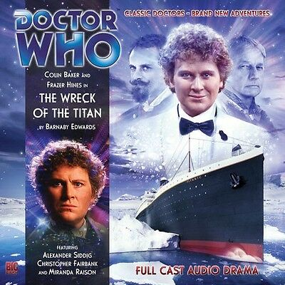 Doctor Who The Wreck of the Titan, 2010 Big Finish audio book CD