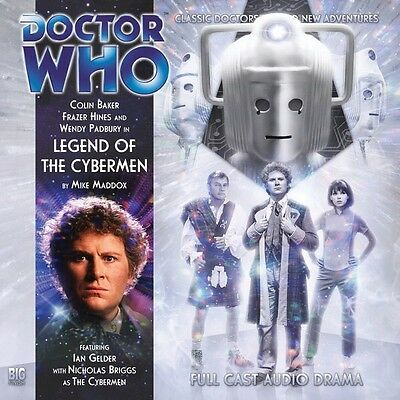 Doctor Who Legend of the Cybermen, 2010 Big Finish audio book CD
