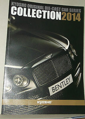 Catalogue Vehicules Miniatures  Kyosho 2014 59 Pages