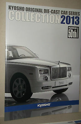 Catalogue Vehicules Miniatures  Kyosho 2013 55 Pages