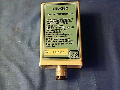 Acoustic Calibrator for sound meters ECL-282