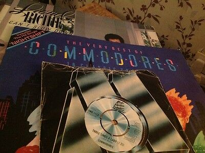 Commodores Lionel Ritchie Three times a lady and albums