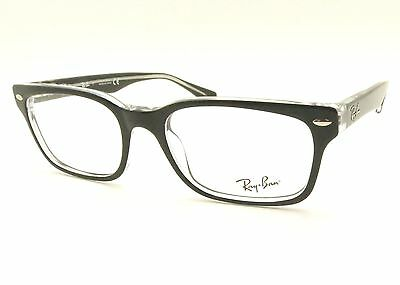 504f81d107688 Ray Ban RB 5286 2034 51mm Black Crystal Eyeglass New Authentic Frames