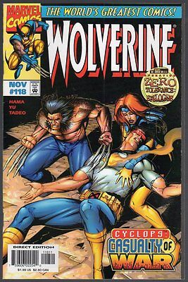 US Comics, Wolverine #118, Nov 1997