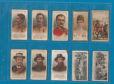 10 very early Cigarette cards tobacco inserts Taddy etc RARE *** #712