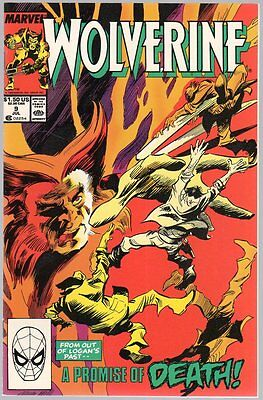 US Comics, Wolverine # 9, Jul 1989