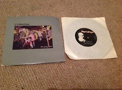 Its Immaterial Ed a Funky diner, The Associates  love hangover vinyl 1980s