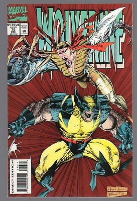 US Comics, Wolverine # 76, Dec 1993