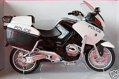 BMW  R1200RT  POLICE  1/12th   MODEL  MOTORCYCLE
