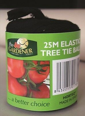 Elastic Tree Tie Ball 25m Horticulture Soft Tomato Vege Climbers Flexible  Best