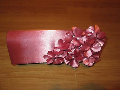 Hand /clutch Bag In Pink For Wedding /party /special Occasion