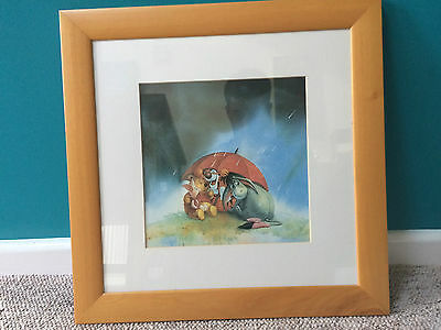 Whinnie The Pooh Picture & Frame