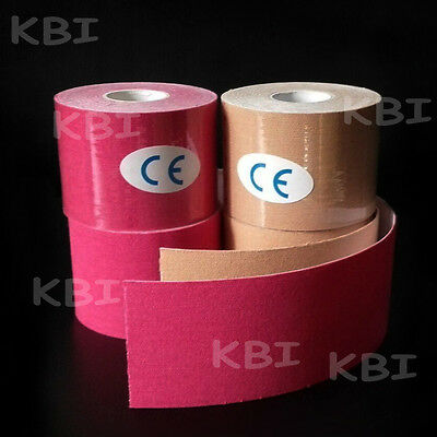 4 Rolls Kinesiology Tape Sports Physio Muscle Strain Injury Support KT Ares