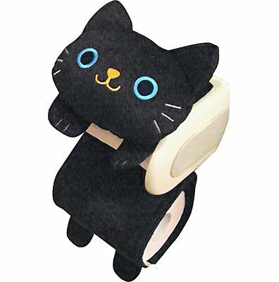 Paper holder black cat