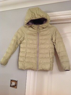 Childrens Uniglo Lime Jacket 5-6 years VGC