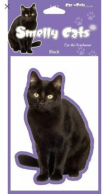 Cat Air Freshener - Black Cat Car Perfect Gift
