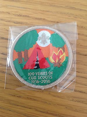 100 Years Of Cub Scouts 1916-2016 Official Badge