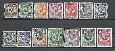 NORTHERN RHODESIA 1953 61/74 USED Cat £100