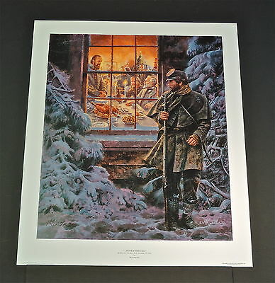 Mort Kunstler - How Real Soldiers Live  - Collectible Civil War Print