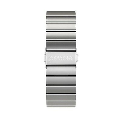 Pebble Time Stainless Steel Strap Genuine