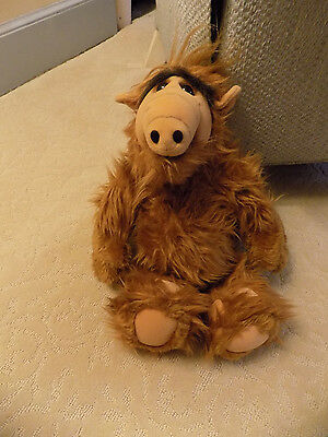 """Vintage 1986 COLECO Alien Productions Stuffed Animal Plush ALF 17"""" Toy Doll   up"""